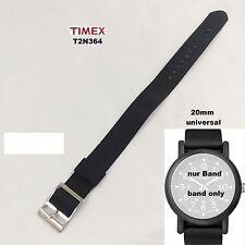 Timex Ersatzarmband T2N364 Camper Modern Heritage - Multifit, Durchzugsband 20mm