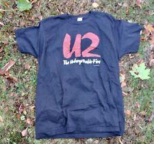 U2 Original 1985 Unforgettable Fire Concert Tour T-Shirt