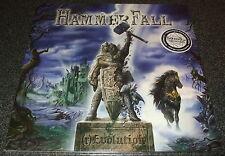 HAMMERFALL-(r)EVOLUTION-2014 2xLP DIEHARD GOLDEN VINYL-100 ONLY-NEW & SEALED