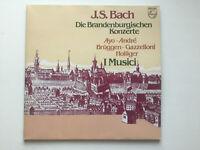 2 lp vinyl J.S. Bach Die Brandenburgische Konzerte Ayo André Brüggen Hollinger