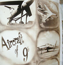 vintage REAL PHOTO 9th Aircraft MILITARY Airforce USAF