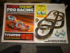 Original Vintage Tyco Lemans Stick-Shift Racing Set VHTF w/ 2 TYCOPRO Cars RARE