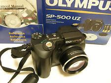 Olympus SP Series SP-500 UZ Digital Camera 6.0 MP 10x Optical Zoom 050332156173