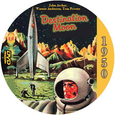 "Destination Moon (1950) Classic Sci-Fi and Horror NR CULT ""B"" Movie DVD"