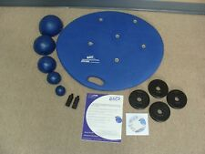 6430-Baps Board, 4 Weight Plates 2 Weight Rods, CD