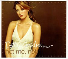 DELTA GOODREM NOT ME,NOT I CD2 4 TRACK CD SINGLE & 3 VIDEOS & CHRISTMAS CARD