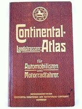 Continental Landstrassen Atlas für Automobilisten - ADAC reprint von 1907