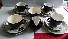 Ridgway Homemaker 4 Pice Tea Set With Sugar Bowl And Milk Jug