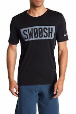 NWT Nike Men's Dri Fit Swoosh Cotton Gym Tee T Shirt 940597 L