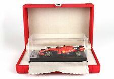1/43 BBR Ferrari 2019 Australian Grand Prix SF90 Charles Le Clerc w/ Case Tameo