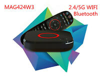 Infomir MAG424W3 UHD IPTV/OTT Wi-Fi 802.11a/b/g/n/ac HEVC H.265 update mag324w2