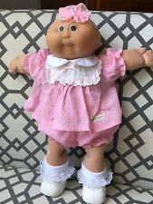 Cabbage Patch Kids Baby Doll ~ 1985 TRI-ANG PEDIGREE SOUTH AFRICA ~ BALD GIRL ~