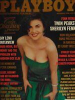 Playboy December 1990 | Morgan Fox Sherilyn Fenn  #4024+