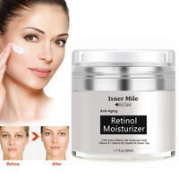 PURE RETINOL VITAMIN A 2.5% Anti Aging Wrinkle Acne Face Facial Serum / Cream US