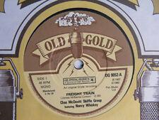 "CHAS McDEVITT SKIFFLE GROUP Freight Train Ex+ Old Gold 1980 UK 7"""