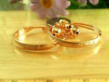 Rose Gold ~ Baby Girl Bangle Anklets Bracelets Set Of 2 ~ 22K Thai Baht Dp