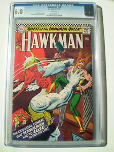 Hawkman # 13  CGC  6.0 Fine  Silver Age 1965   white pages