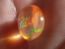 2.6 Carats. FreeForm cab fire Mexican opal