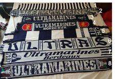 N°8 Écharpe ultras ultramarines Magic Fans bordeaux Football
