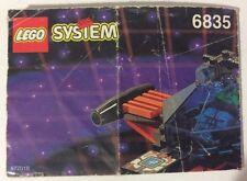 LEGO 6835 Notice de Montage Instruction Booklet 1994 Saucer Scout Spyrius