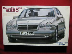Mercedes Benz E320 1/24 Fujimi Japan Plastic Model Kit E Class 1996