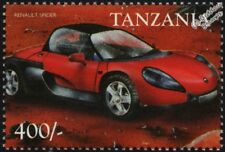 RENAULT SPORT SPIDER Mint Automobile Car Stamp (1999 Tanzania)