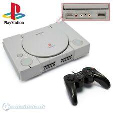 PS1 / Playstation 1 - Konsole SCPH-1002 mit Cinchausgängen + Controller + Zub.