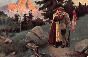 Volkstrachten Abschied der Liebenden glca.1910 161.280