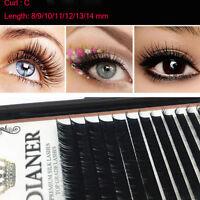 Mink Individual False Eyelashes Fake Eye Lashes Semi Permanent Extensions Tools!