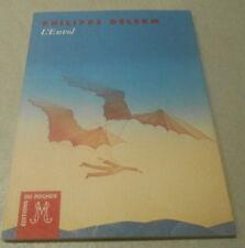 Philippe DELERM / 2 petits volumes ..PANIER DE FRUITS+L'ENVOL .Nouvelles EO