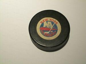 1970s Rawlings NHL  New York Islanders Puck