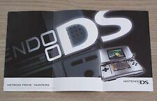 Metroid Prime Hunters Mini Game Poster - Nintendo DS - 2006