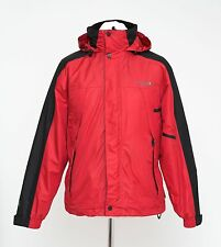 MEN REGATTA 3IN1 PADDED JACKET FLEECE INSIDE ISOTEX 5000 HOODED RED S SMALL EXC