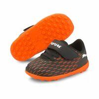 Puma Future 6.4 TT V Inf Kleinkinder Fußballschuhe schwarz weiß orange