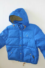 Ralph Lauren Polo  Puffer Small Pony Blue  Hoodie Jacket L LARGE