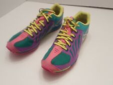 Asics Cross Country With Spikes Track Shoes Cross Freak Womens Size 7.5 Neon