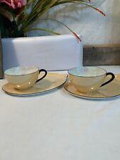 Superb Vintage Rudolf Wachter Art Deco porcelain lustre cup saucer snack tray