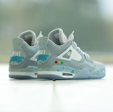 Air Jordan 4 Nike Mag @billboardwalking mens Size 13 Custom Back To The Future