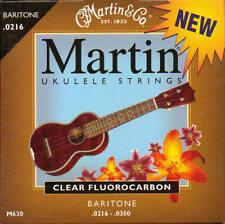 Baritone Ukulele, Ukulele Banjo Strings-Martin M630 clear fluorocarbon