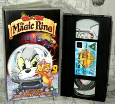 Tom And Jerry, The Magic Ring, Children's VHS Tape & Case. VHS,