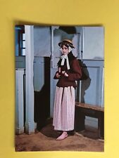 THE WELSH COSTUME AS WORN BY MARY JONES BALA 18th CENTURY MEIRIONESHIRE POSTCARD