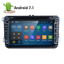 """Android 7.1 8"""" Car DVD Player Radio GPS Nav Canbus DAB+ OBD2 O for VW Skoda Seat"""