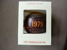 Hallmark Glass Ornament - Christmas Collage 1979 Nib