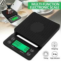 2020 Accurate Electric Kitchen Scale Coffee Scale with Timer Hot A6S2