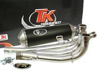 Auspuff Sport mit E Zeichen Turbo Kit GMax 4T für Suzuki Burgman 650