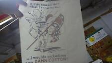 Vintage 70's Redneck cotton rebel HEAT PRESS TRANSFER for T Shirt Sweatshirt New