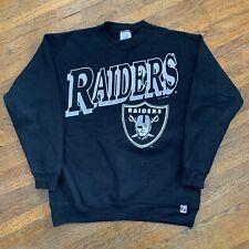 Vintage 1991 Oakland Raiders Crewneck Sweatshirt Size M Logo 7 NFL Los Angeles