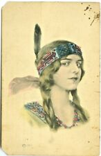 American Indian Indian Princess 1914