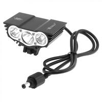7500LM SolarStorm 3 x XM-L T6 LED 4 Modes Bicycle Lamp Bike Headlamp Lights Hot