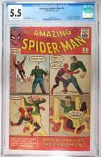 Amazing Spider-Man #4 CGC 5.5 1st Sandman Freshly Graded